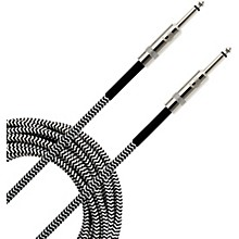 Braided Instrument Cable 20 ft. Gray