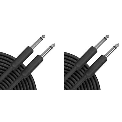Musician's Gear Braided Instrument Cable Black 20 ft. 2-Pack