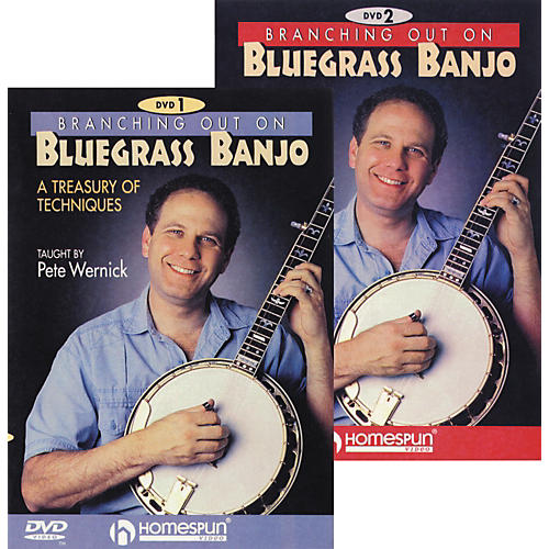 Homespun Branching Out On Bluegrass Banjo 2-DVD Set