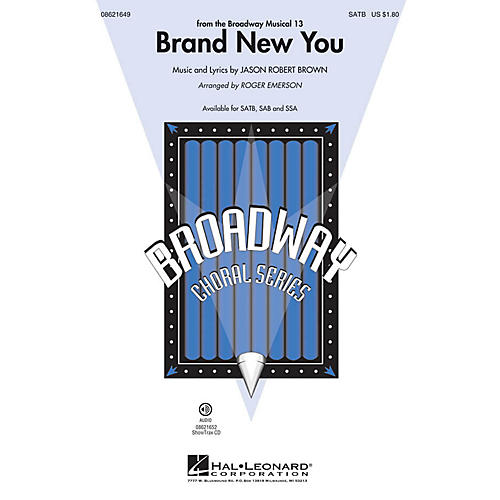 Hal Leonard Brand New You (from 13) ShowTrax CD Arranged by Roger Emerson