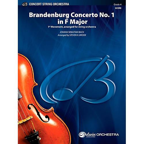 Alfred Brandenburg Concerto No. 1 in F Major Concert String Orchestra Grade 4 Set