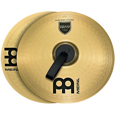 Meinl Brass Marching Medium Cymbal Pair