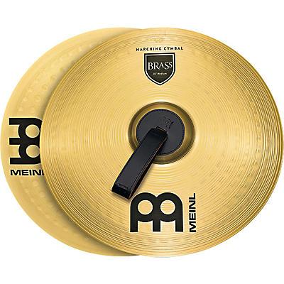 Meinl Brass Marching Medium Cymbal Pair