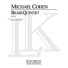 Lauren Keiser Music Publishing Brass Quintet LKM Music Series by Michael Cohen