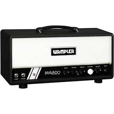Wampler Bravado 40W Hand-Wired Tube Guitar Amp Head