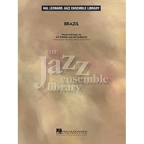 Hal Leonard Brazil Jazz Band Level 4 Arranged by Michael Philip Mossman