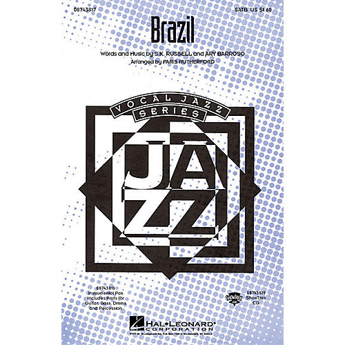 Hal Leonard Brazil SATB arranged by Paris Rutherford