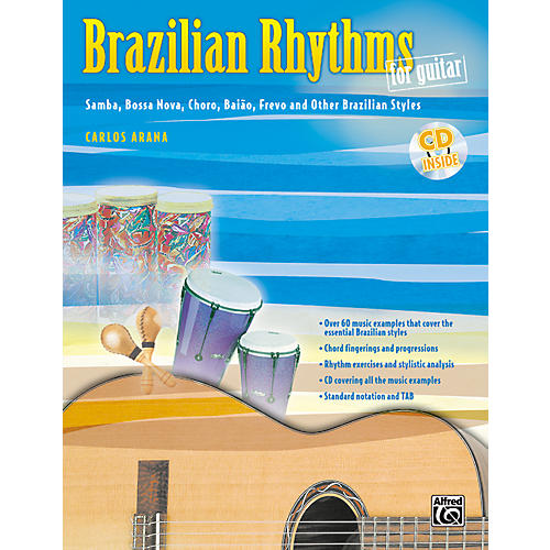 Alfred Brazilian Rhythms for Guitar - Book/Cd