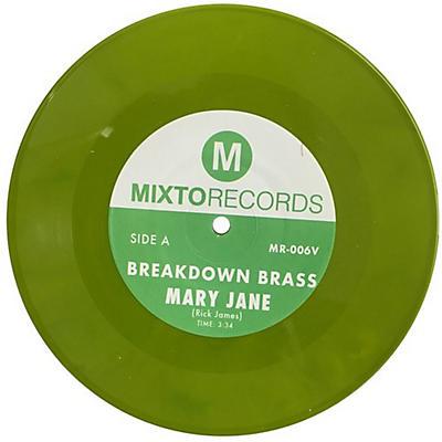 Breakdown Brass - Mary Jane / The Horseman (green Vinyl 7'')