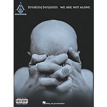 Hal Leonard Breaking Benjamin We Are Not Alone Guitar Tab Songbook