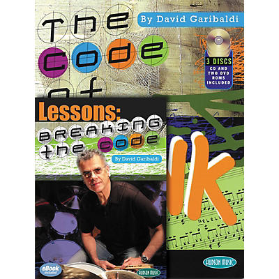 Hal Leonard Breaking The Code - David Garibaldi Book/CD/DVD Combo Pack