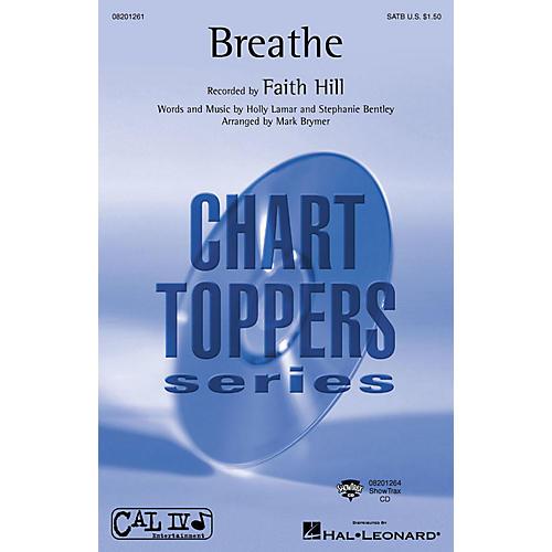 Hal Leonard Breathe ShowTrax CD by Faith Hill Arranged by Mark Brymer