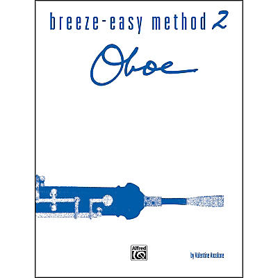 Alfred Breeze-Easy Method for Oboe Book II