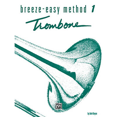 Alfred Breeze-Easy Method for Trombone or Baritone Book I