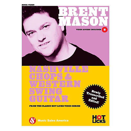 Music Sales Brent Mason - Nashville Chops & Western Swing Guitar (Hot Licks Book/Video Online)