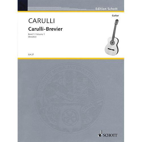 Schott Brevier - Selected Works for Guitar (Volume 1 - Easy) Schott Series