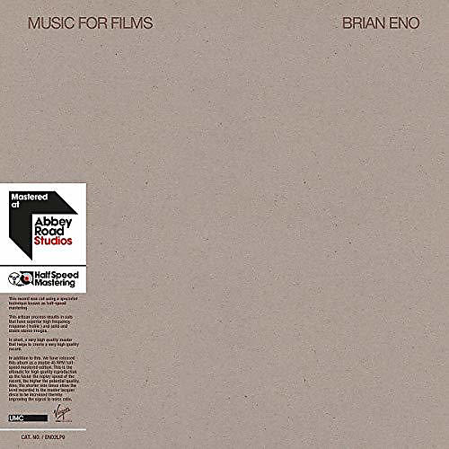 Alliance Brian Eno - Music for Films