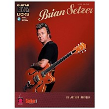 Cherry Lane Brian Setzer - Guitar Legendary Licks (Book/Online Audio)
