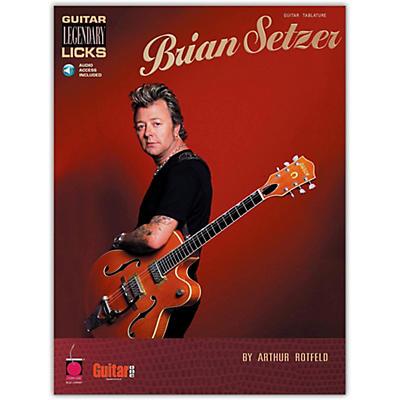 Cherry Lane Brian Setzer - Guitar Legendary Licks (Book/Online Audio)