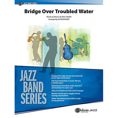 Alfred Bridge Over Troubled Water Jazz Band Grade 3.5 Set