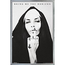 Bring Me The Horizon - Sign Poster Framed Silver