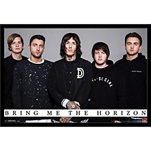Bring Me The Horizon - Umbrella Poster Framed Black