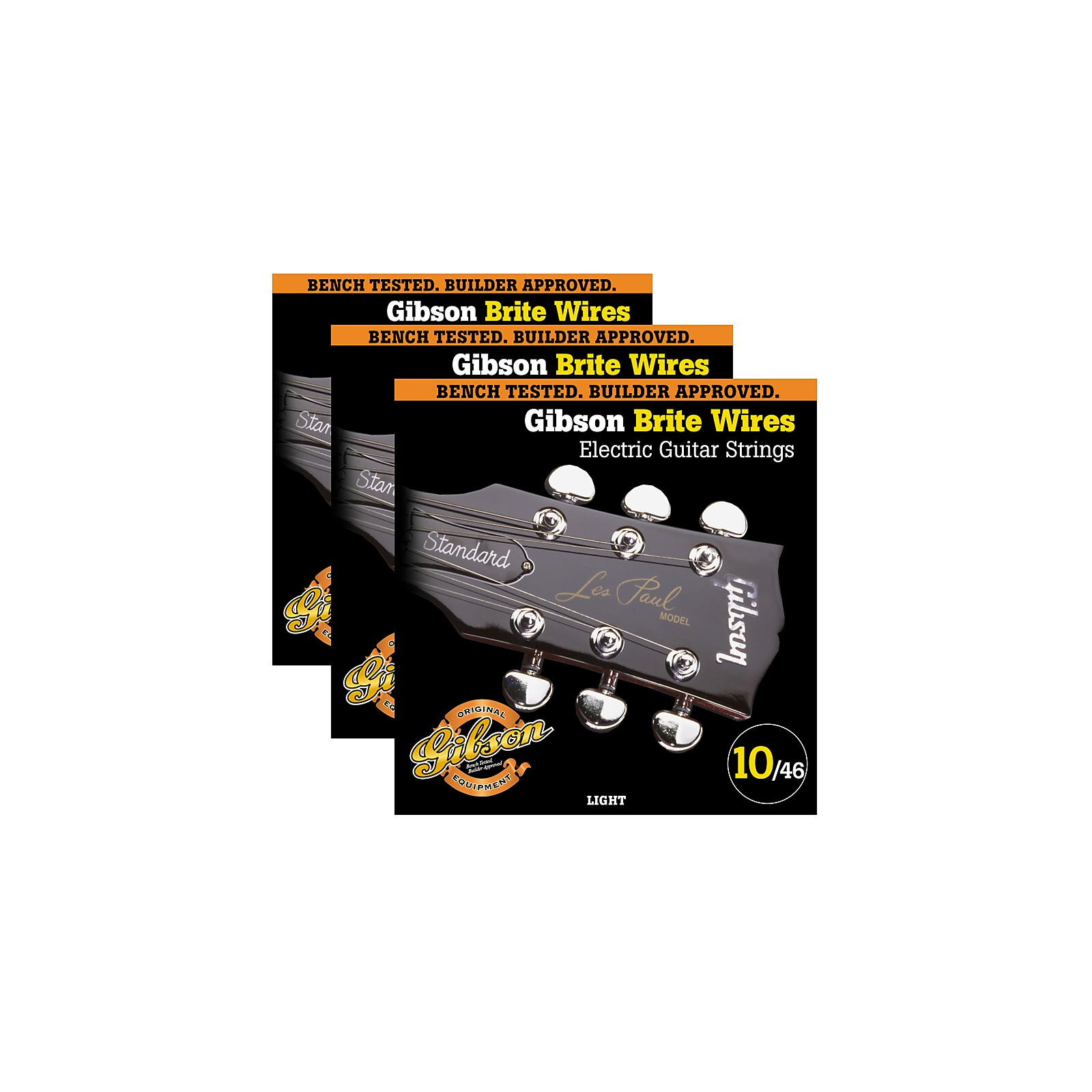 Gibson Brite Wires Light Guitar Strings