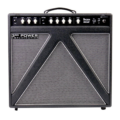 3rd Power Amps British Dream 30W 1x12 Tube Guitar Combo Amp with Alnico Gold Speaker