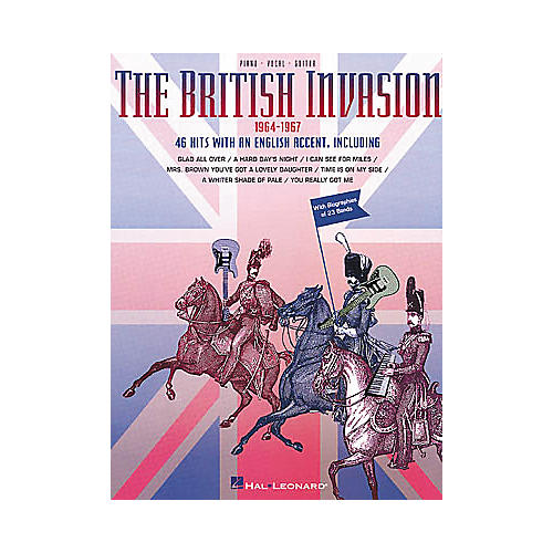 Hal Leonard British Invasion Piano/Vocal/Guitar Songbook
