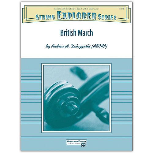 Alfred British March Conductor Score 1