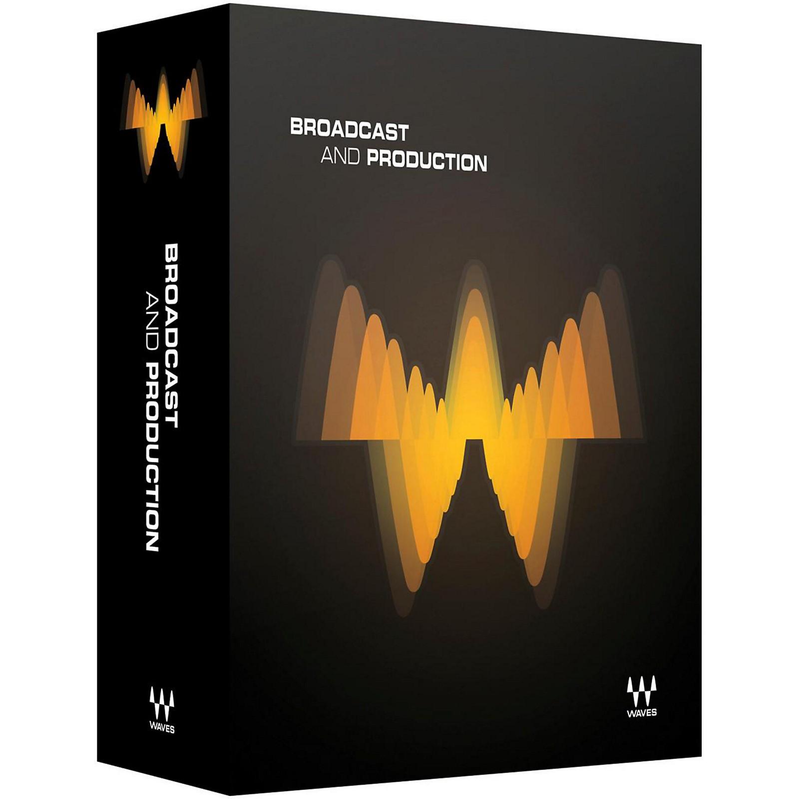 Waves Broadcast & Production Bundle Native/TDM/SG