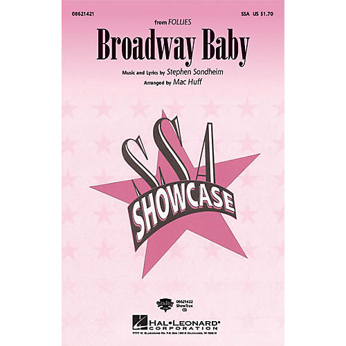Hal Leonard Broadway Baby (from Follies) ShowTrax CD Arranged by Mac Huff