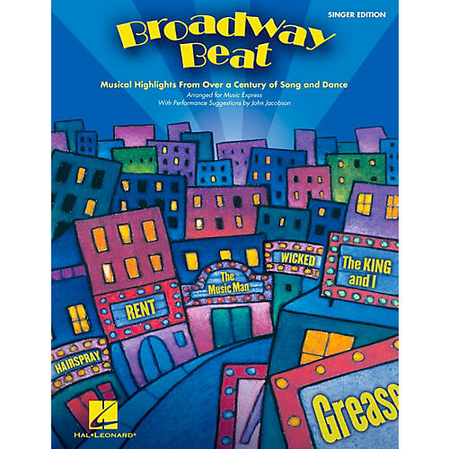 Hal Leonard Broadway Beat - Musical Highlights from Over a Century of Song and Dance, Singer's Edition (20 Pak)