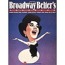 Hal Leonard Broadway Belter's Songbook Vocal Book