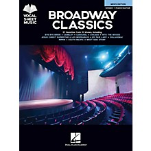 Hal Leonard Broadway Classics - Men's Edition (Singer + Piano/Guitar) Vocal Sheet Series Songbook