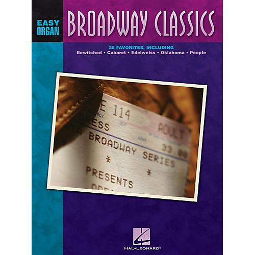 Hal Leonard Broadway Classics Easy Organ Adventure Series