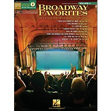 Hal Leonard Broadway Favorites - Pro Vocal Series Volume 4 for Women/Men Book/CD