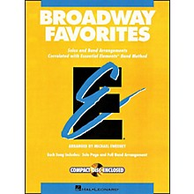 Hal Leonard Broadway Favorites Baritone T.C. Essential Elements Band