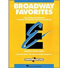 Hal Leonard Broadway Favorites Bass Clarinet Essential Elements Band