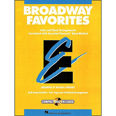 Hal Leonard Broadway Favorites F Horn Essential Elements Band