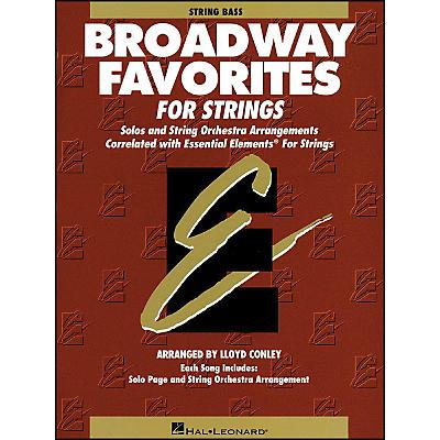 Hal Leonard Broadway Favorites for Strings String Bass Essential Elements