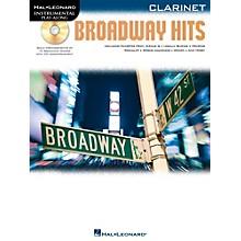 Hal Leonard Broadway Hits For Clarinet - Instrumental Play-Along Book/CD
