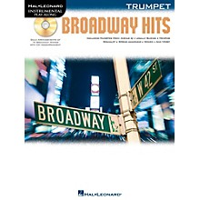 Hal Leonard Broadway Hits For Trumpet - Instrumental Play-Along Book/CD