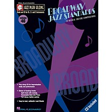 Hal Leonard Broadway Jazz Standards (Jazz Play-Along Volume 46) Jazz Play Along Series Softcover with CD by Various