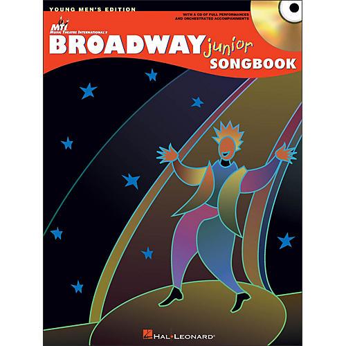 Hal Leonard Broadway Junior Songbook - Young Men's Edition Book/CD