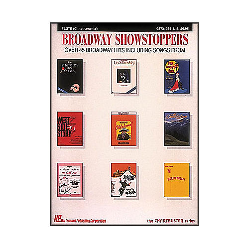 Hal Leonard Broadway Showstoppers for Flute And C Instruments