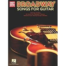 Hal Leonard Broadway Songs for Guitar - Easy Guitar Tab Songbook