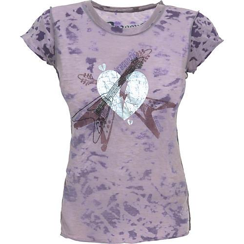 Dragonfly Clothing Broken Heart Burnout Women's T-Shirt