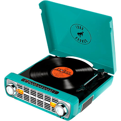 ION Bronco LP 4-in-1 Classic Truck-Styled Music Center Teal