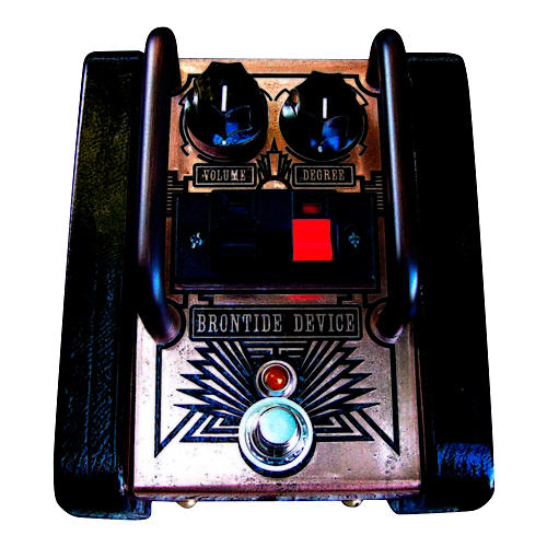 Copper Gear Brontide Device - True Analog Distortion Pedal with Swappable Diodes